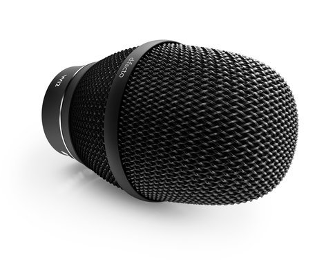 DPA Microphones FA2006VW12B d:facto Interview Microphone with Wireless W12 Adapter in Black FA2006VW12B