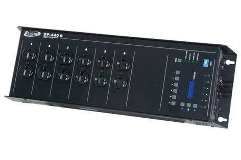 Elation Pro Lighting DP-640B 6 Channel Dimmer/Relay Pack with Circuit Breakers DP-640B