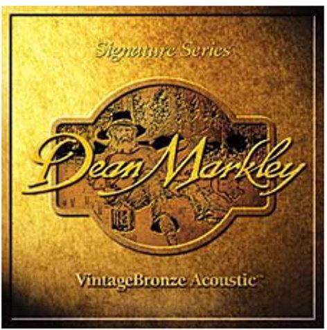 Dean Markley 2002 Light VintageBronze Acoustic Guitar Strings 2002-DEAN-MARKLEY