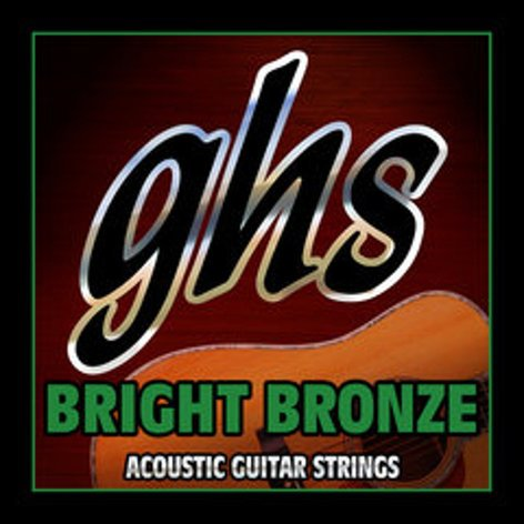 GHS Strings BB40M Medium Bright Bronze Acoustic Guitar Strings BB40M