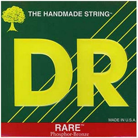 DR Strings RPM-12 Medium RARE Phosphor Bronze Acoustic Guitar Strings RPM-12