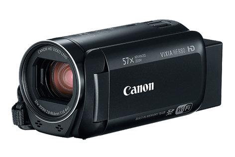 Canon VIXIA HF R80 57x Advanced Zoom 3.28MP HD Camcorder with 16GB Internal Storage HFR80