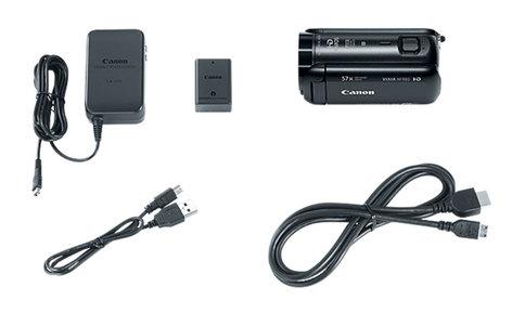 Canon VIXIA HF R82 57x Advanced Zoom 3.28MP HD Camcorder with 32GB Internal Storage HFR82