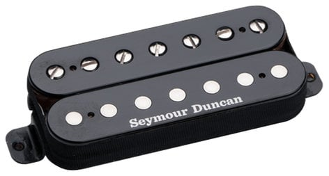 Seymour Duncan SH-2N-7STRING Pickup for 7-String Guitars, Jazz Model, Neck, Black SH-2N-7STRING