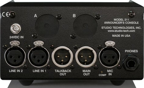 Studio Technologies Model 211 Announcers Console MODEL-211