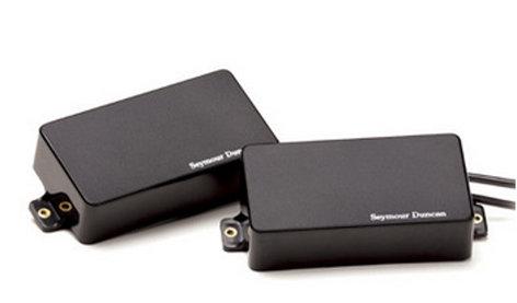 Seymour Duncan 11106-32-B Set of Active AHB-1s Blackout Electric Guitar Pickups 11106-32-B