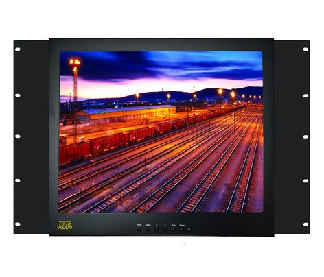 """ToteVision LED1709HDR  17"""" Rack-Mounted Monitor LED1709HDR"""