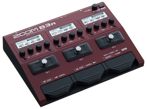 Zoom B3n Multi-Effects Processor Pedal for Bass B3N