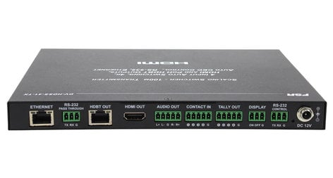 FSR, Inc DV-HDSS-41-TX  4 x 1 Scaling Switcher with HDBaseT and HDMI DV-HDSS-41-TX