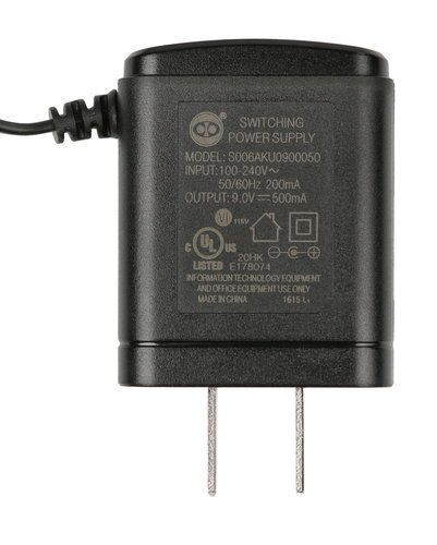 M-Audio MA-9XUS 9V Power Supply for Axiom 25, 49, and 61 MA-9XUS