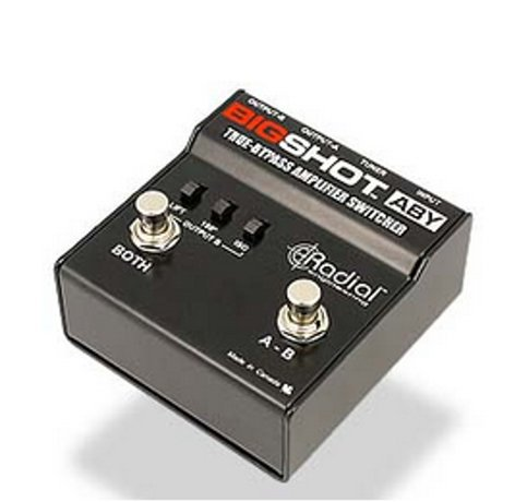 Radial Engineering BIGSHOT-ABY BIGSHOT/ABY BIGSHOT-ABY