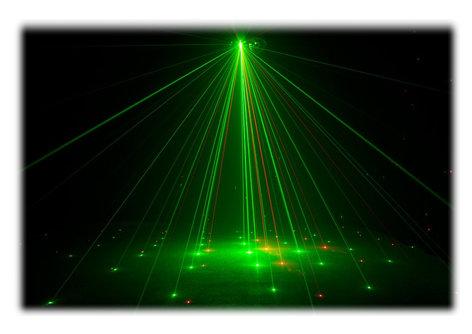 ADJ Boom Box FX1 4-FX-IN-1, Dome, Derby, Strobe & Laser effect Fixture BOOM-BOX-FX-1
