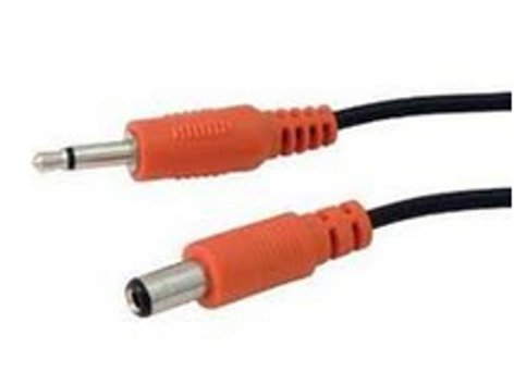 BBE SUPA-EH-TYPE 2-Pack Supa-Charger Power Supply Cables for Electro-Harmonix Pedals in Orange SUPA-EH-TYPE