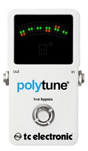 TC Electronic PolyTune 2 Polyphonic Tuner Guitar Pedal POLYTUNE-2