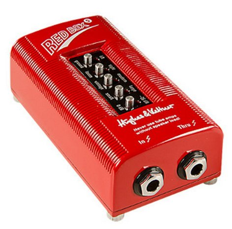 hughes kettner redbox 5 red box 5 cabinet simulator di box full compass systems. Black Bedroom Furniture Sets. Home Design Ideas