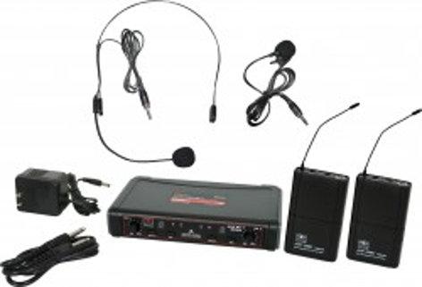 Galaxy Audio EDXR/38SV EDX Wireless Microphone System EDXR/38SV