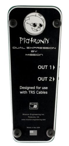 Pigtronix Dual Expression Pedal Pedal Dual Function Expression DUAL-EXPRESSION