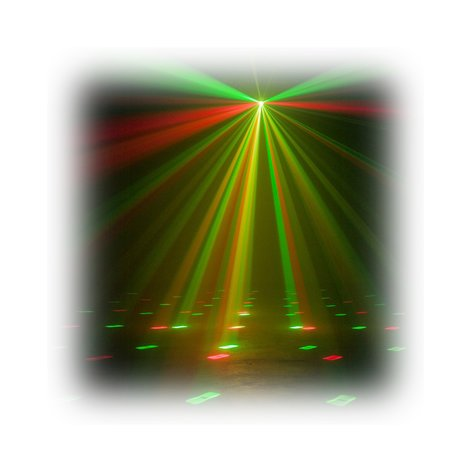 ADJ Ani-Motion Compact Laser Fixture with Red & Green Lasers ANI-MOTION