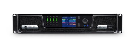Crown CDi 4|300BL Analog and BLU Link Input, 4-Channel, 300W Per Output Channel, Amplifier CDI4x300BL-U-US