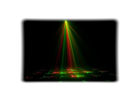 ADJ Boom Box FX2 4-FX-IN-1: Gobo, Moonflower, Strobe, & Laser Effect Fixture BOOM-BOX-FX-2
