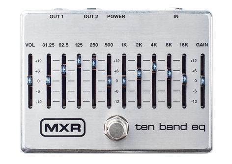MXR Pedals Ten Band EQ 10-Band EQ Pedal M108S