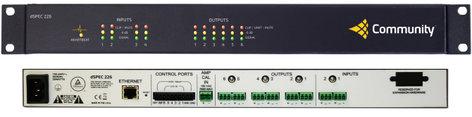 Community DSPEC226  DSP 2 Analog In X 6 Analog Out Speaker Processor  DSPEC226