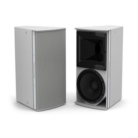 """Community IP6-1122WR99 Grey, Medium Power 12"""" 2-Way 90 x 90 Weather-Resistant Loudspeaker IP6-1122WR99"""
