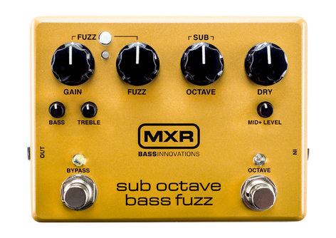 MXR Pedals Sub Octave Bass Fuzz - M287 Bass Fuzz Pedal M287