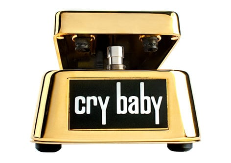 Dunlop Manufacturing 50th Anniversary Cry Baby, Limited Edition Wah Pedal GCB95G