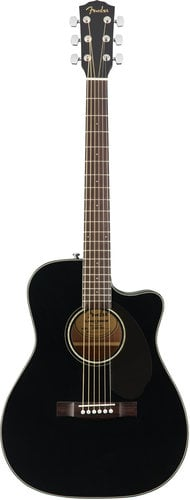 Fender CC-60SCE Concert Cutaway Acoustic-Electric Guitar with Rosewood Fingerboard CC-60SCE
