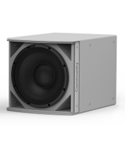 """Community IS6-112WR Medium Power 12"""" Subwoofer Weather-Resistant in Grey IS6-112WR"""