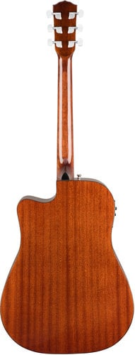 Fender CD-140SCE-MAH-WC CD-140SCE All-Mahogany Dreadnought Acoustic-Electric Guitar with Case CD-140SCE-MAH-WC