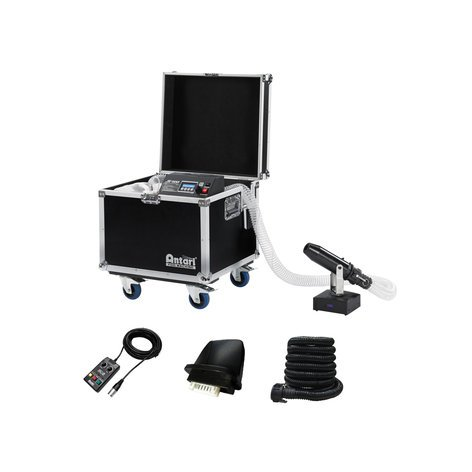 Antari Lighting & Effects S-500XL Silent Snow Machine Package with Antari S-500, PM-1, and Wireless DMX S-500X