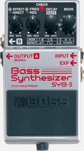 Boss SYB5 Pedal Bass Synthesizer SYB5