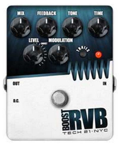 Tech 21 RVBT-V2 Analog Reverb Effect Pedal RVBT-V2