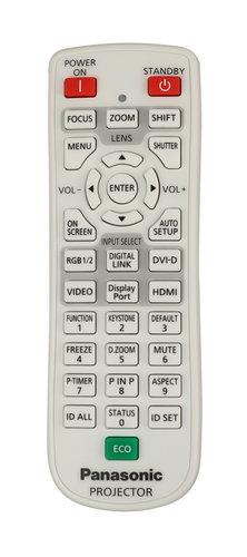 Panasonic N2QAYA000063 Remote Control for PT-EW730ZU N2QAYA000063