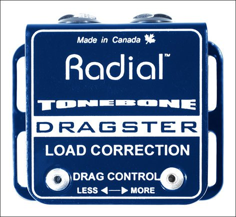 Radial Engineering DRAGSTER Stand-Alone Guitar Drag Control / Load Correction DRAGSTER