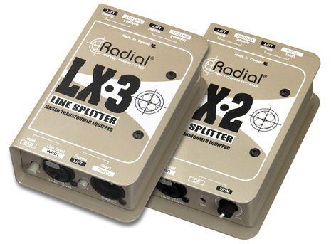 Radial Engineering LX-3  3 Channel Passive Line Level Splitter LX-3