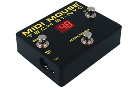 Tech 21 MM1 MIDI Mouse Foot Controller MM1-TECH21