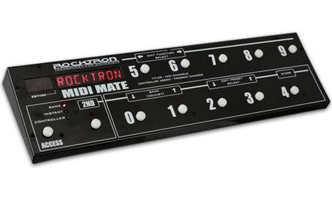 Rocktron MIDI Mate MIDI Control Pedal MIDI-MATE