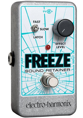 Electro-Harmonix FREEZE Sound Retainer Pedal, Infinite Sustain FREEZE