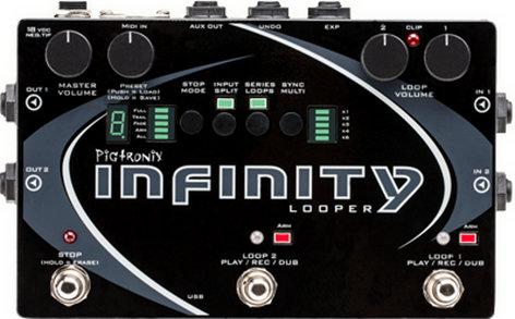 Pigtronix Infinity Looper Stereo Performance Looper Pedal INFINITY-LOOPER