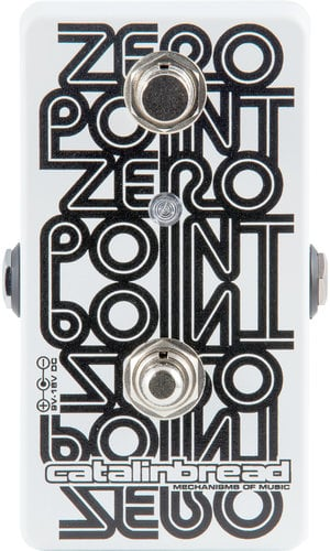 Catalinbread ZERO-POINT Zero Point Manual Studio Tape-Style Flanger Effects Pedal ZERO-POINT