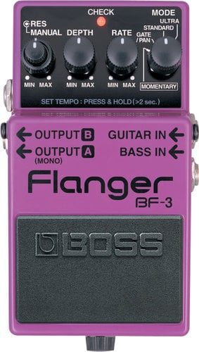 Boss BF3 Guitar Pedal, Flanger BF3