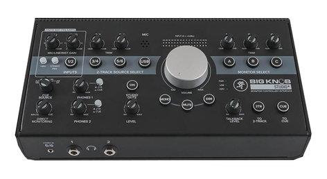 Mackie Big Knob Studio+ 4x3 Studio Monitor Controller | 192kHz USB I/O BIG-KNOB-STUDIO-PLUS
