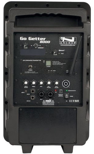 Anchor GG-8000XU1  Go Getter with One Wireless Receiver and One AIR Wireless Companion Transmitter GG-8000XU1