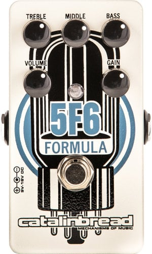 Catalinbread Pedals Formula 5F6 Tweed Bassman Amplifier Emulation/Overdrive Pedal FORMULA-5F6
