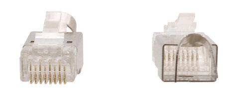 Kramer CON-RJ45-3 Single K-LAN Crimp-Style Shielded RJ45 Connectors for Category Cables CON-RJ45-3