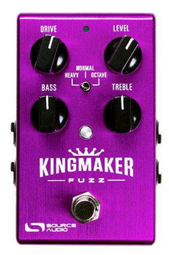 Source Audio SA245 Kingmaker Fuzz One Series Effects Pedal SA245