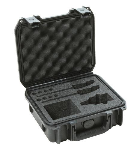 SKB Cases 3I0907-4-SWK iSeries Waterproof Sennheiser EW Wireless Mic Case 3I-0907-4-SWK
